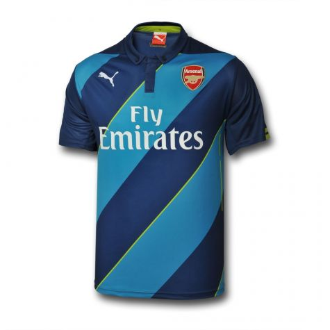 size 40 2254e 2701f Arsenal 14-15 Third Cup Football Shirt