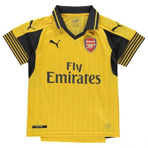 low priced 2d94e 00afa Arsenal 2016-2017 Away Football Shirt (Kids)