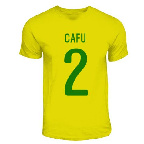 Cafu Brazil Hero T-shirt (yellow)