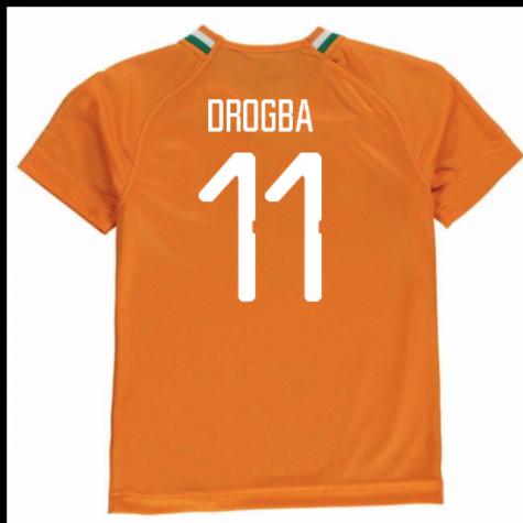 Tim Short Hazard >> 2018-19 Ivory Coast Home Shirt (Drogba 11) - Kids [75238401-104015] - $78.19 Teamzo.com