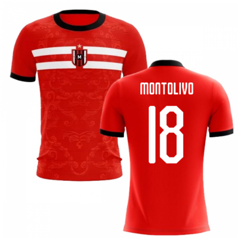 2020-2021 Milan Away Concept Football Shirt (Montolivo 18)