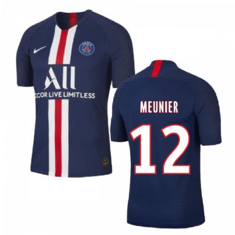2019-2020 PSG Home Nike Shirt (Kids) (MEUNIER 12)