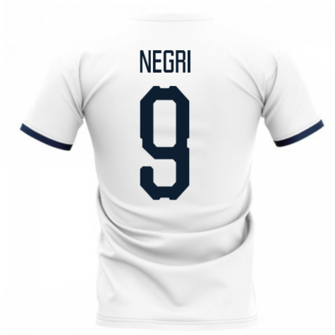 2020-2021 Glasgow Away Concept Football Shirt (NEGRI 9)