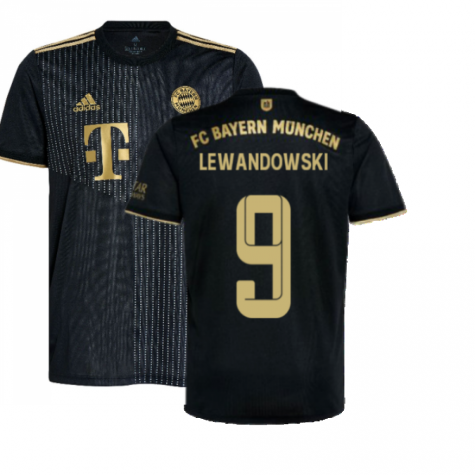 2021-2022 Bayern Munich Away Shirt (Kids) (LEWANDOWSKI 9)