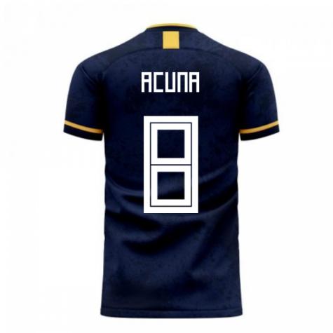 Argentina 2020-2021 Away Concept Football Kit (Libero) (ACUNA 8)