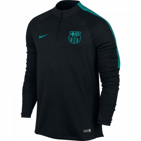 Barcelona 2016-2017 Drill Training Top (Black-Energy)