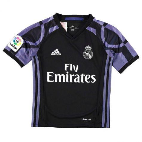 sports shoes 9ba78 1814c Real Madrid 2016-2017 Third Shirt (Kids)