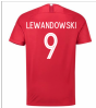 2018-19 Poland Away Shirt (Lewandowski 9)