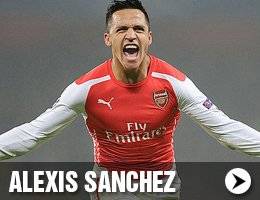 Alexis Sanchez Shirts