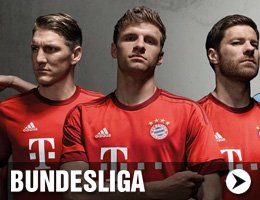 Bundesliga Football Shirts