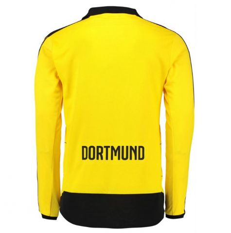 borussia dortmund 2015 2016 home long sleeve shirt 74799201. Black Bedroom Furniture Sets. Home Design Ideas